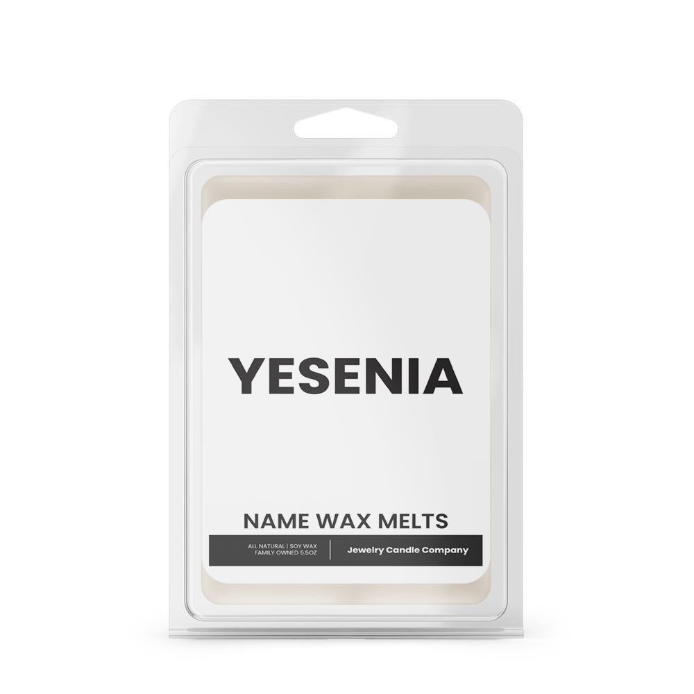 YESENIA Name Wax Melts