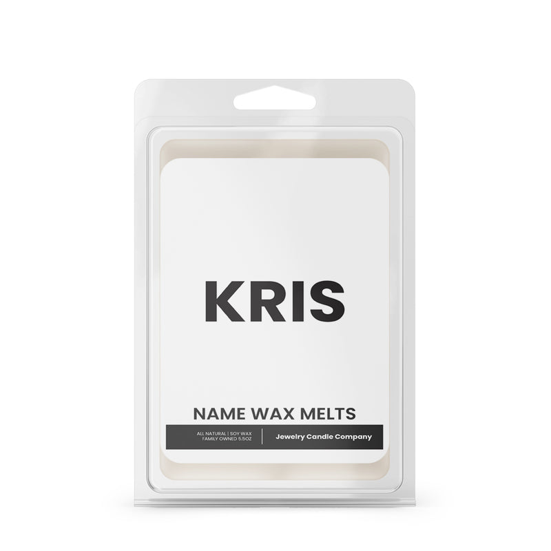 KRIS Name Wax Melts