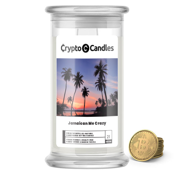 Jamaican Me Crazy Crypto Candles