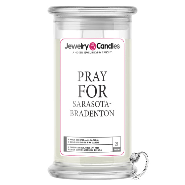 Pray For Sarasota-Bradenton Jewelry Candle
