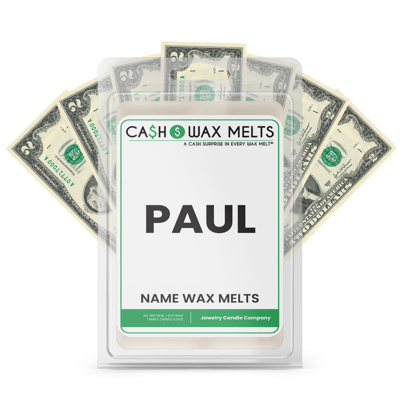 PAUL Name Cash Wax Melts