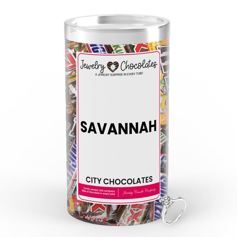 Savannah City Jewelry Chocolates