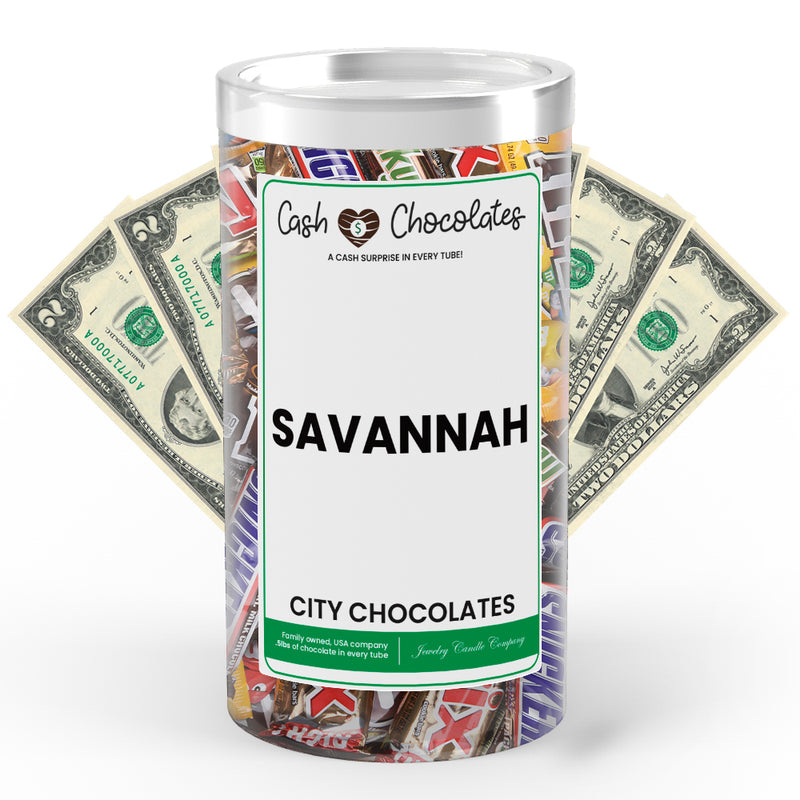Savannah City Cash Chocolates