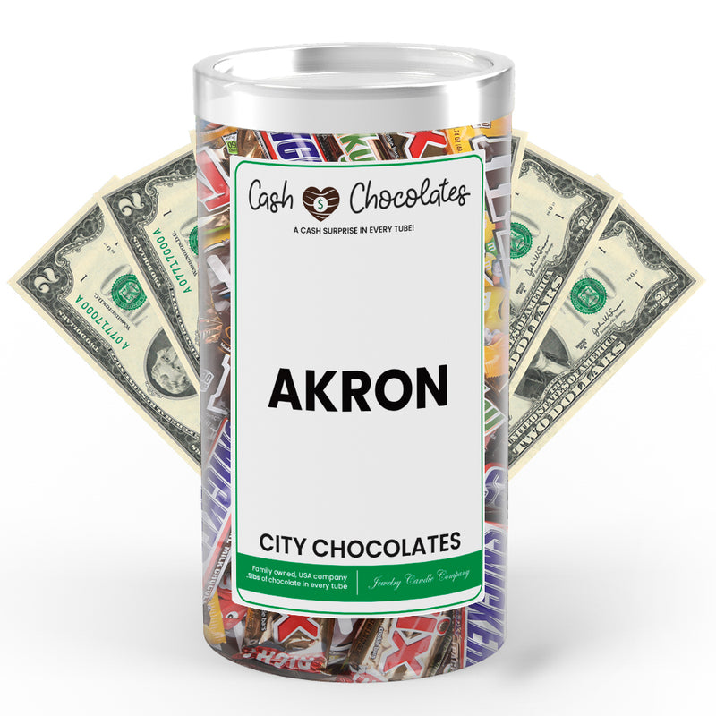 Akron City Cash Chocolates