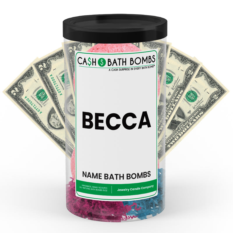 BECCA Name Cash Bath Bomb Tube
