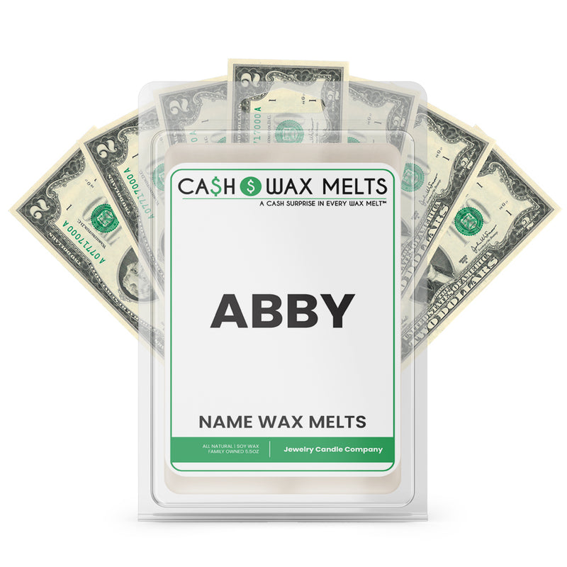 ABBY Name Cash Wax Melts
