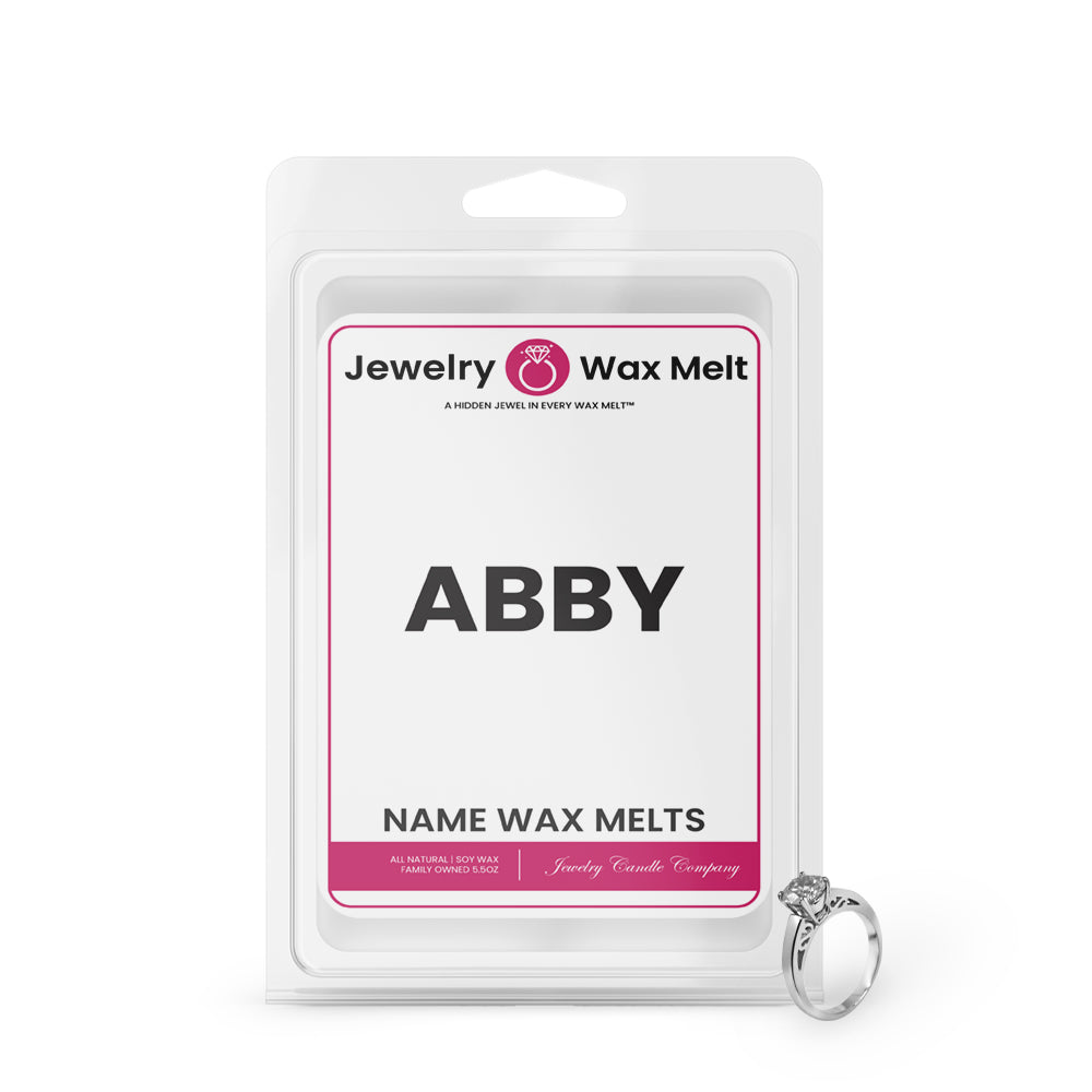 ABBY Name Jewelry Wax Melts