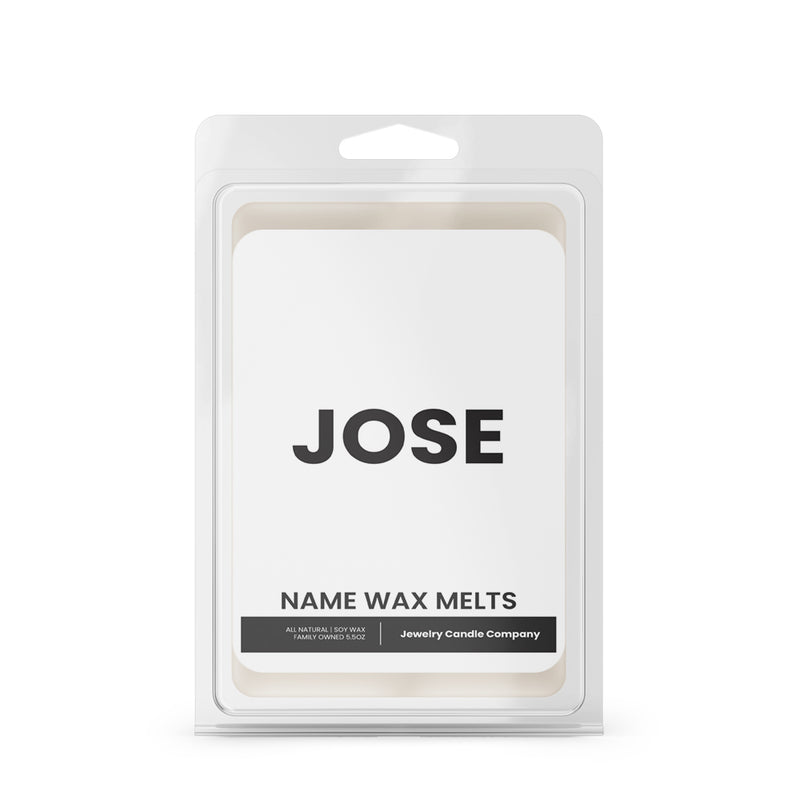 JOSE Name Wax Melts