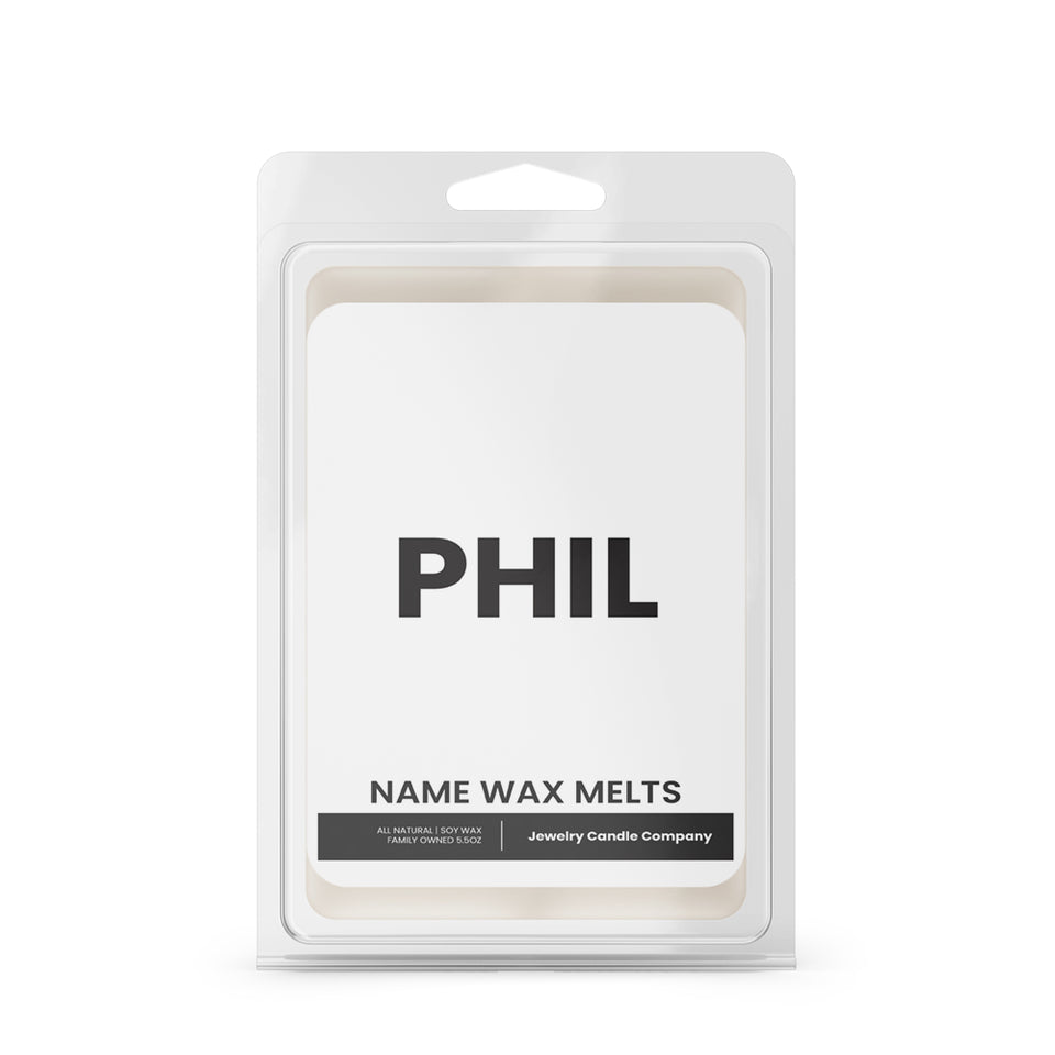 PHIL Name Wax Melts