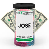 JOSE Name Cash Bath Bomb Tube