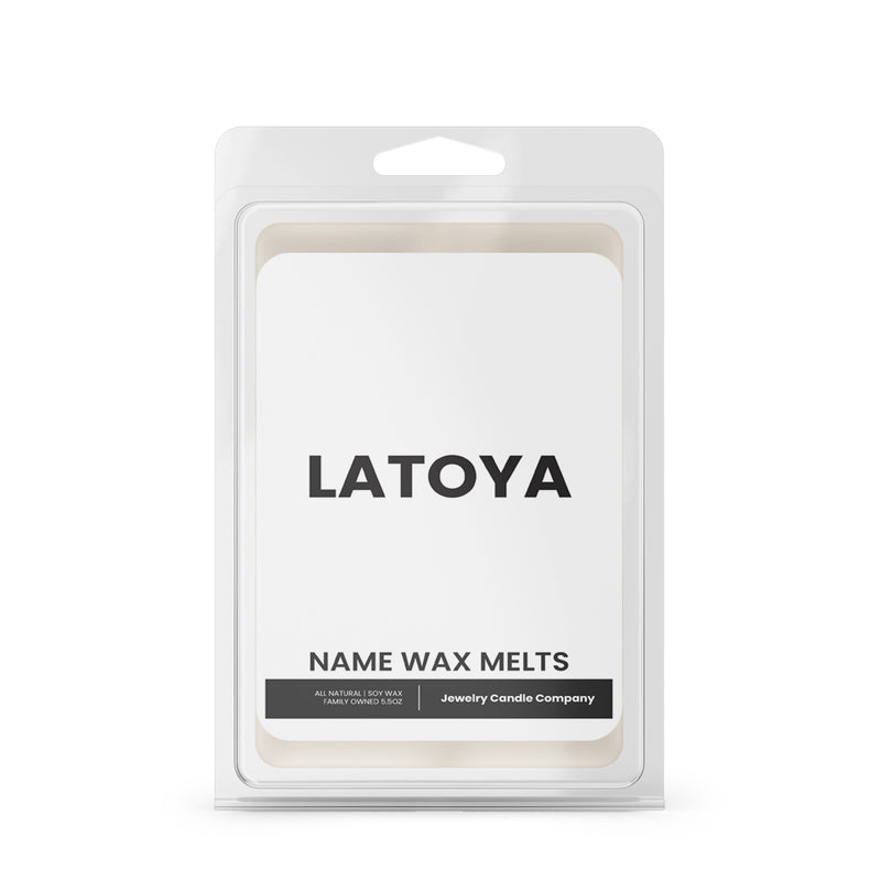 LATOYA Name Wax Melts