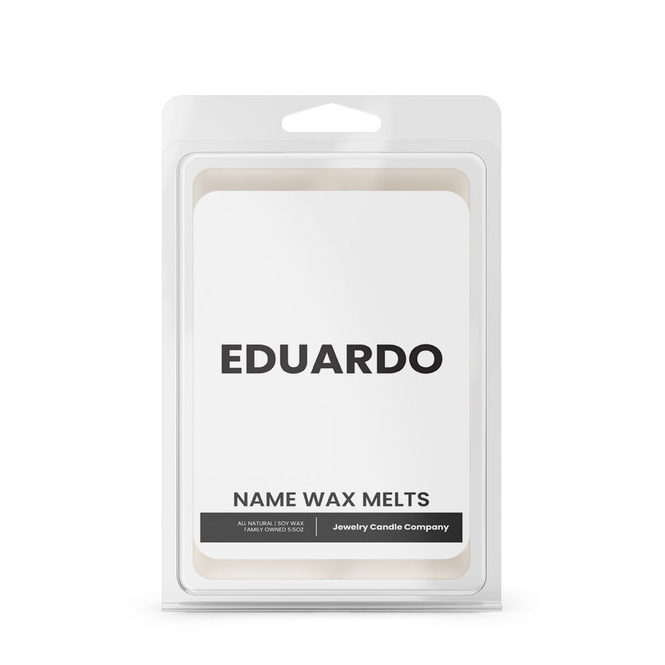 EDUARDO Name Wax Melts