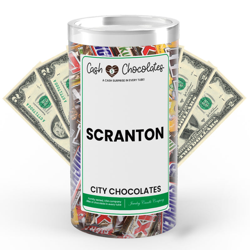 Scranton City Cash Chocolates