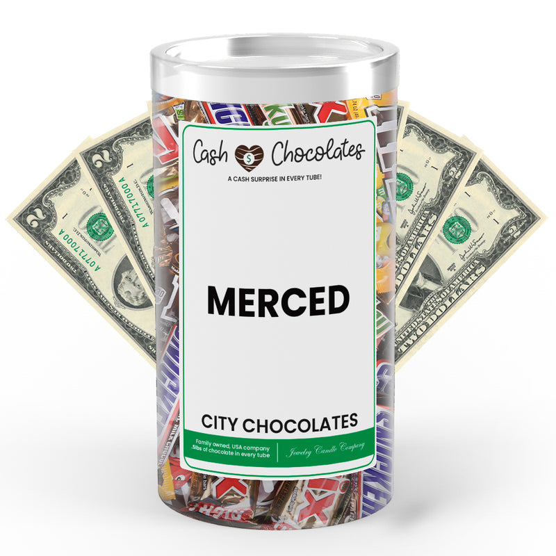 Merced City Cash Chocolates