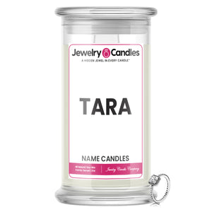 TARA Name Jewelry Candles