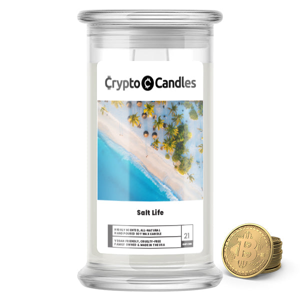 Salt Life Crypto Candle