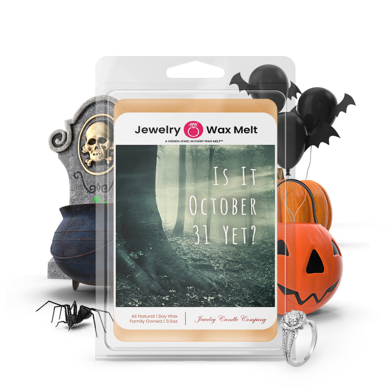 Is it october 31 yet? Jewelry Wax Melts