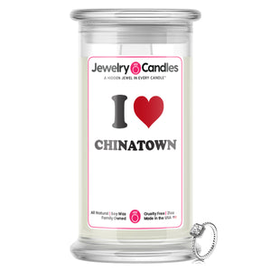 I Love CHINATOWN Landmark Jewelry Candles