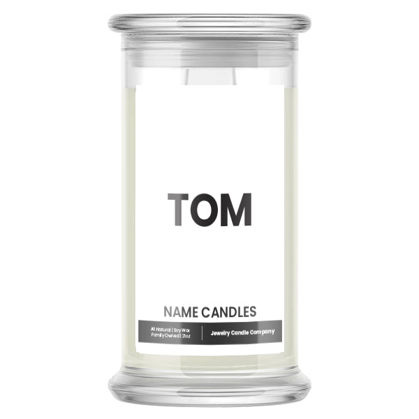 TOM Name Candles