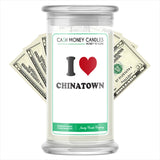 I Love CHINATOWN Landmark Cash Candles