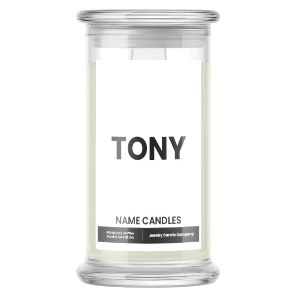 TONY Name Candles
