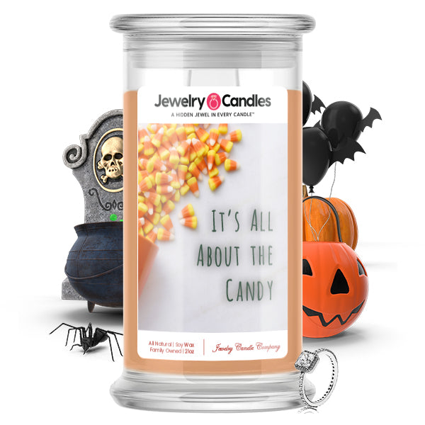 It's all about the candy Jewelry Candle
