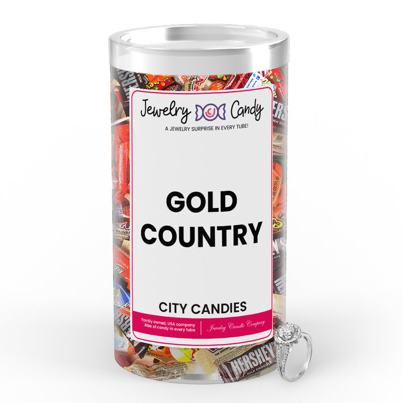 Gold Country City Jewelry Candies