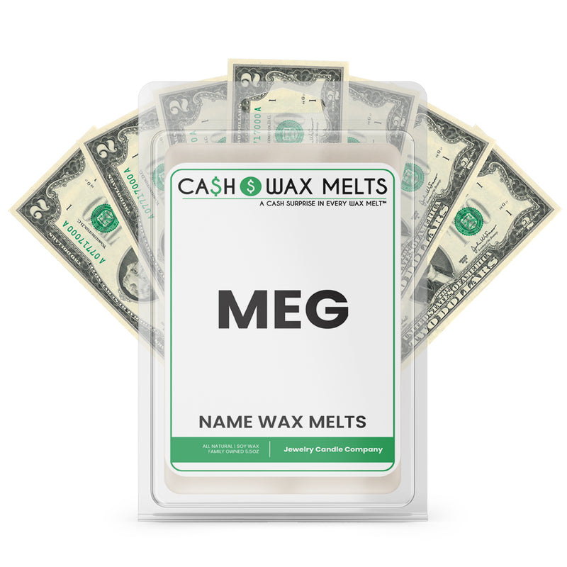 MEG Name Cash Wax Melts
