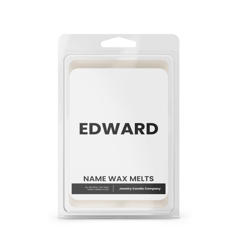 EDWARD Name Wax Melts