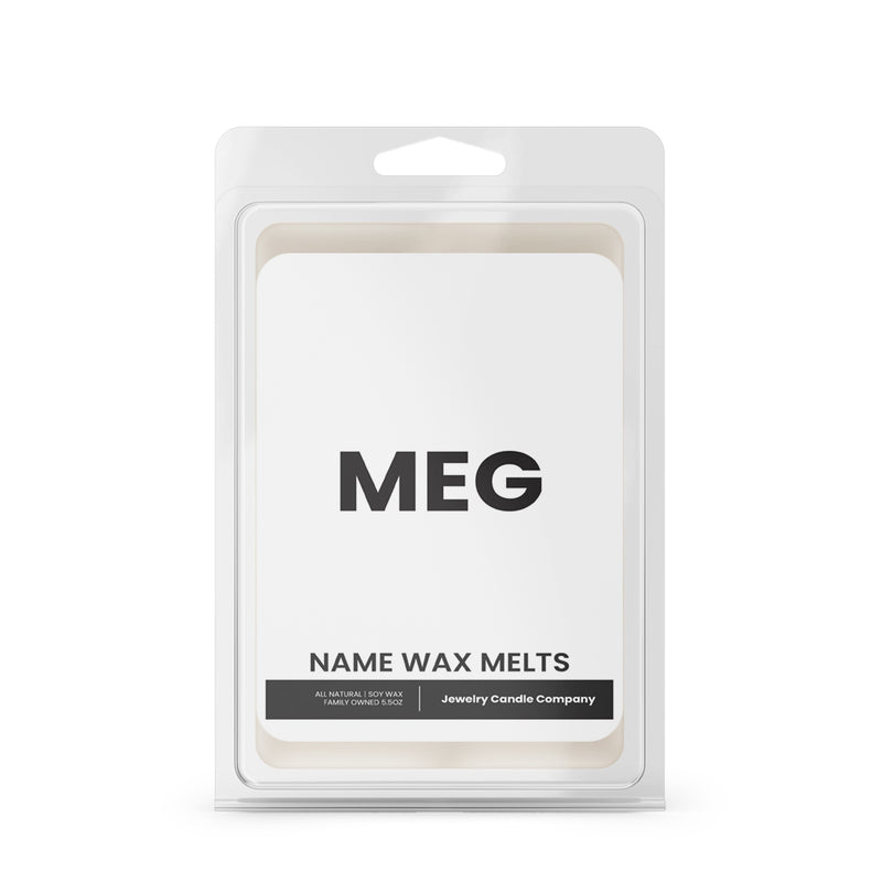 MEG Name Wax Melts