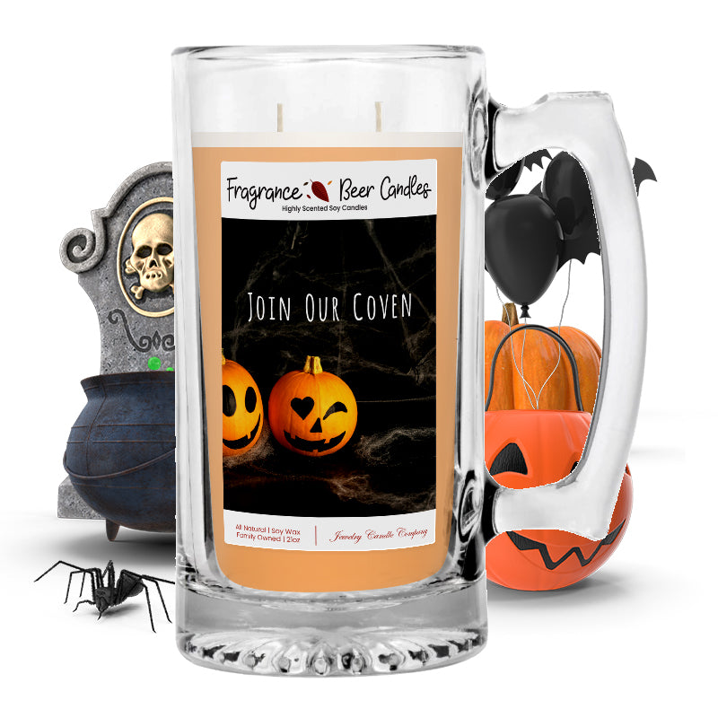 Join your coven Fragrance Beer Candle