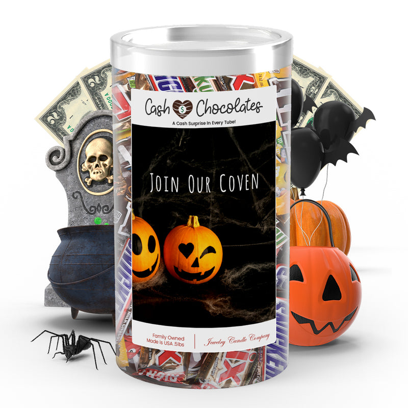 Join your coven Cash Chocolates