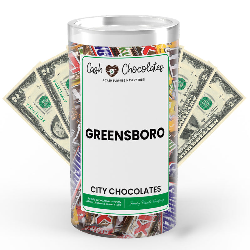 Greensboro City Cash Chocolates