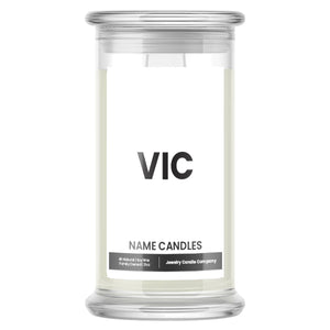 VIC Name Candles