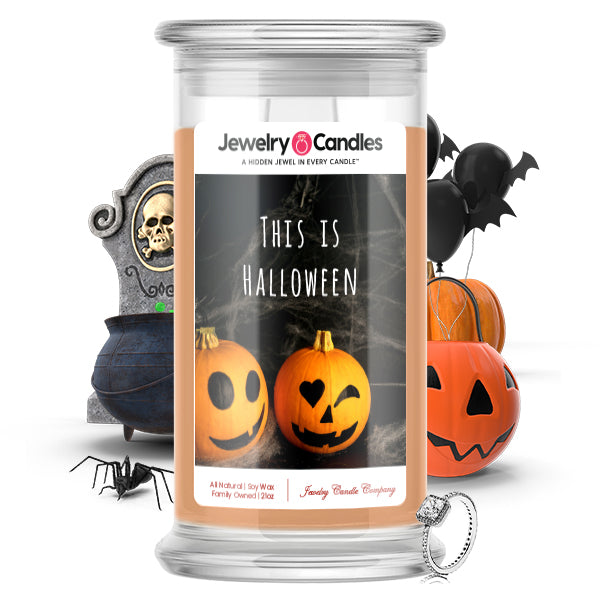 This Is halloween Jewelry Candle