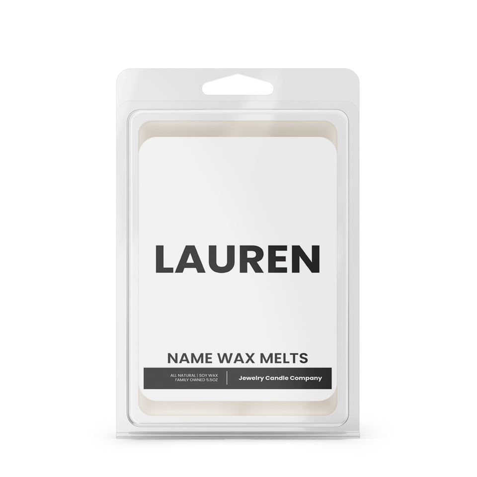 LAUREN Name Wax Melts