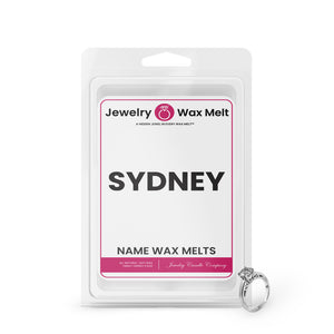 SYDNEY Name Jewelry Wax Melts