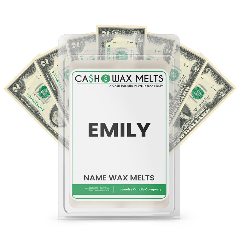 EMILY Name Cash Wax Melts
