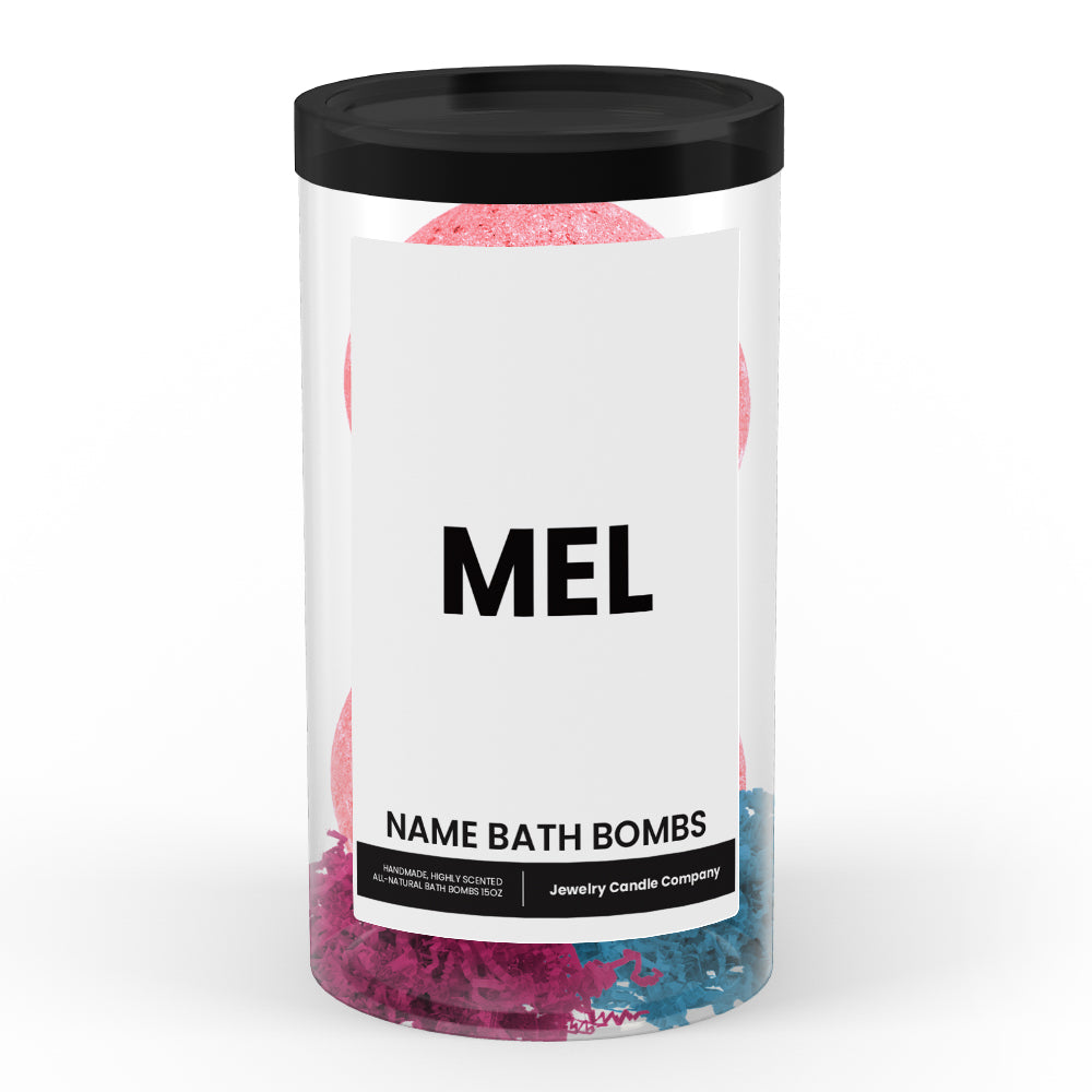 MEL Name Bath Bomb Tube