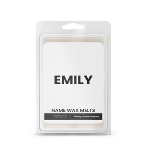 EMILY Name Wax Melts