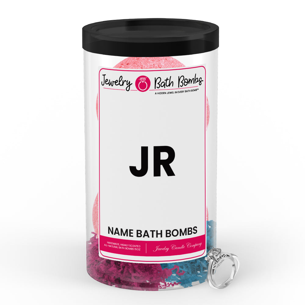 JR Name Jewelry Bath Bomb Tube