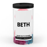 BETH Name Bath Bomb Tube