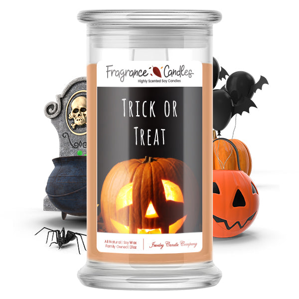 Trick or treat Fragrance Candle