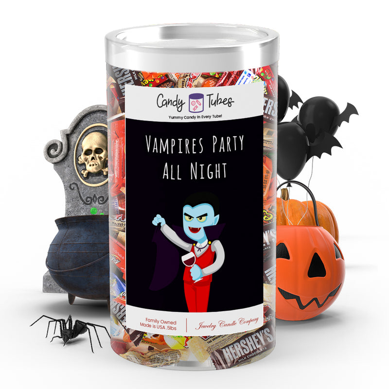 Vampires party all night Candy