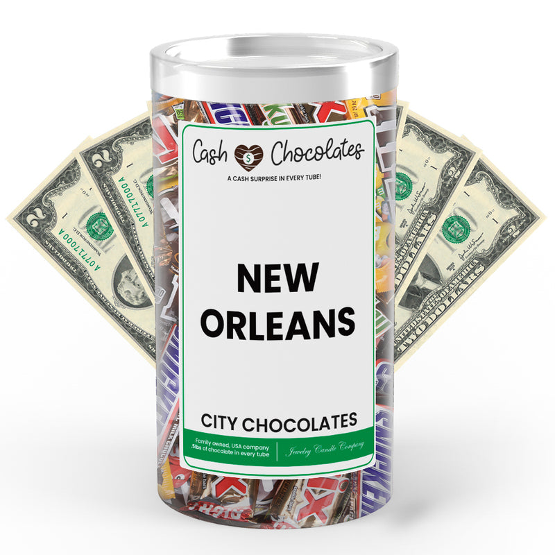 New Orleans City Cash Chocolates