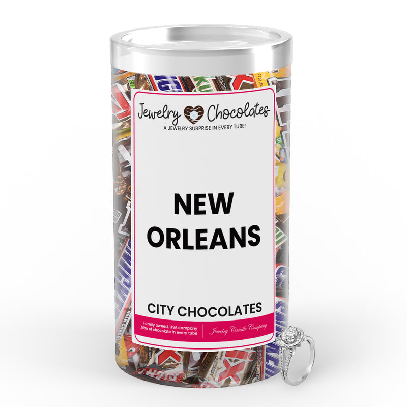 New Orleans City Jewelry Chocolates