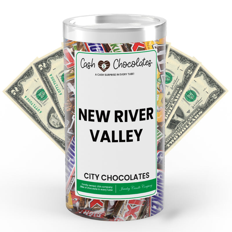 New River Valley City Cash Chocolates