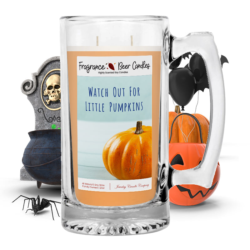 Witch out for little pumpkins Fragrance Beer Candle