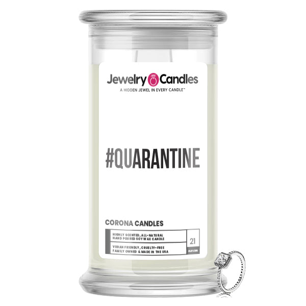 Quarantine Jewelry Candle