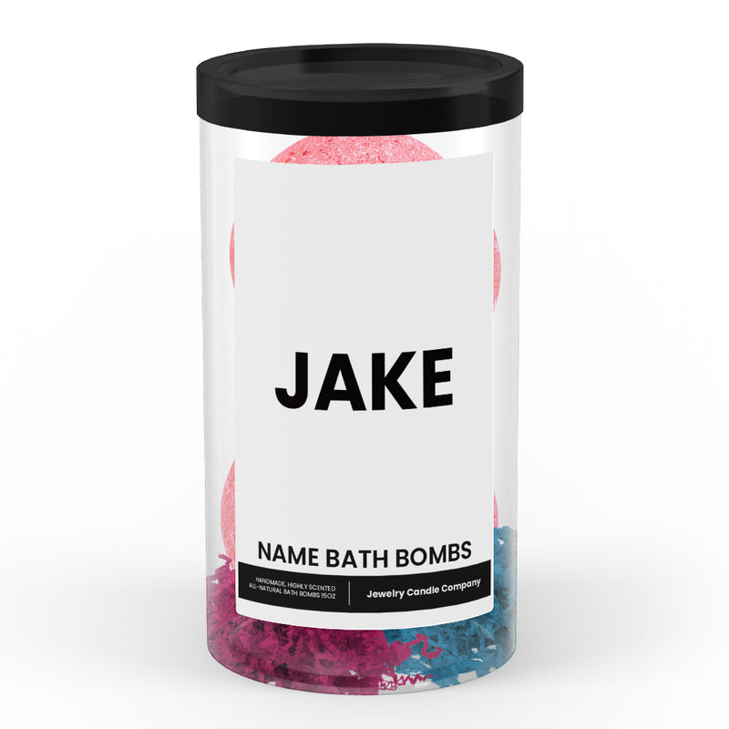 JAKE Name Bath Bomb Tube